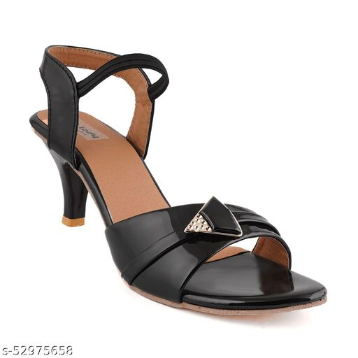 ZOYCI PENCIL HEELS FOR LADIES IN BLACK (LIMITED EDITION)