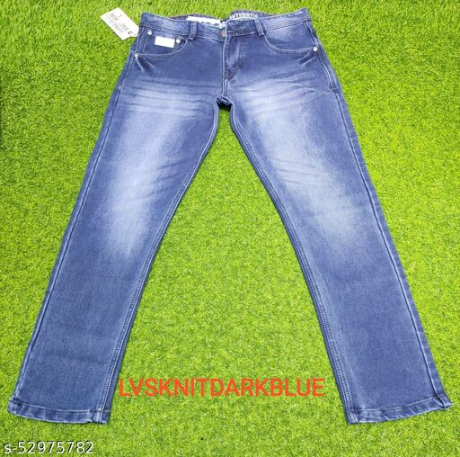 LVS KNITTED NAVY BLUE Jeans