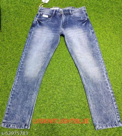 LVS KNITTED LIGHT BLUE Jeans