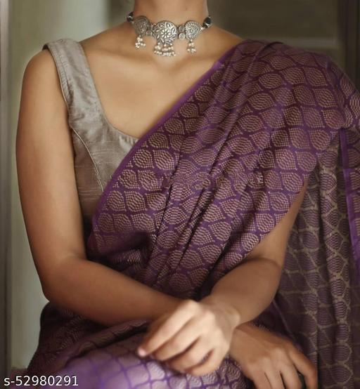 BHAGALPURI Cotton silk saree with Separate Blouse Piece