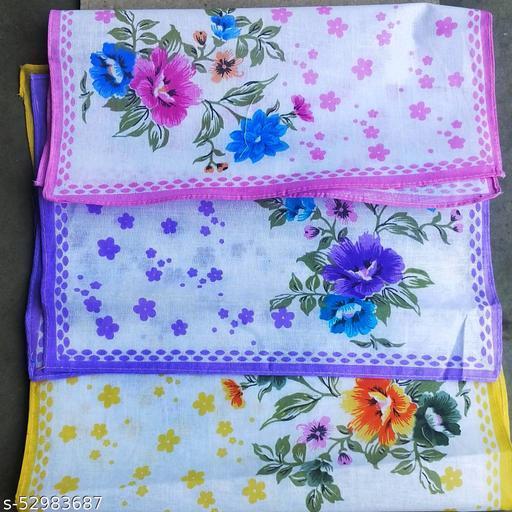 Ladies handkerchiefs (6 pcs)