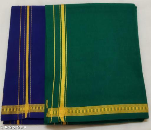 cotton colour dhoti