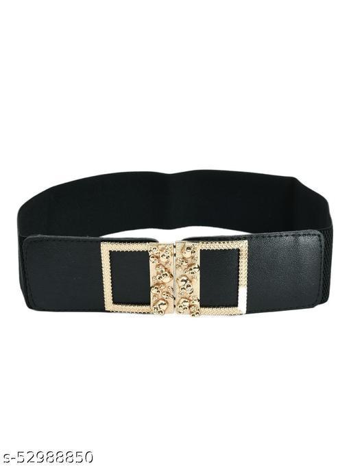 Women Waist Belt Stretchy Cinch Belt Canvas Elastic Belt for Ladies Dress Decoration