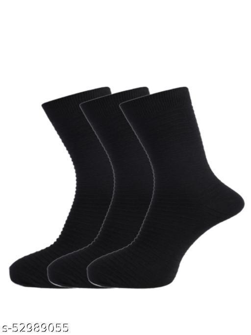 Dollar Men Pack of 3 Black Full Length Socks
