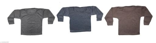 purely nature kids thermal top (Pack of 3)