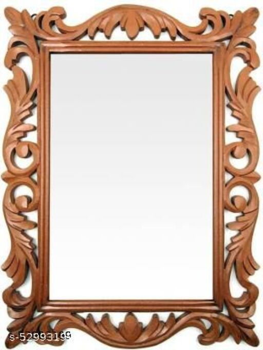Rectangle shaped mirror