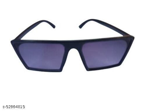 Royal Men's blue glass Square Sunglass