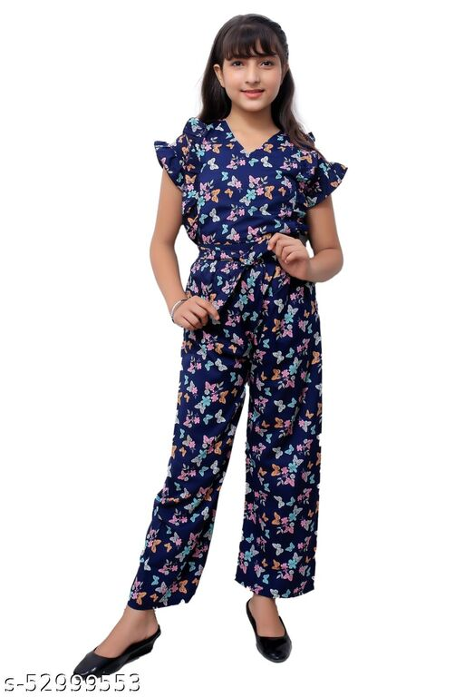 Princess Stylish Kids Girls Jumpsuits