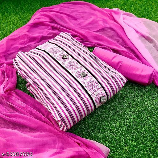 CEMARIC COTTON SUIT SET/ DRESS MATERIAL