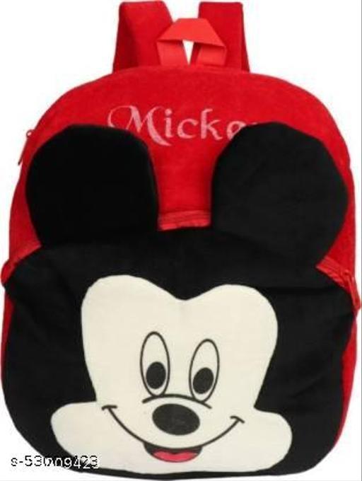 Vstargallary kids school bag soft plush cartoon baby boys gigls bag 15L