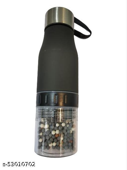 ARDOUR ARDOUR Healthcare Alkaline Ph Level Water Bottle 650 ml H2O BPA Free Water Bottle for Weight Loss Improve Immunity Energy Body Detox Water Taste.…