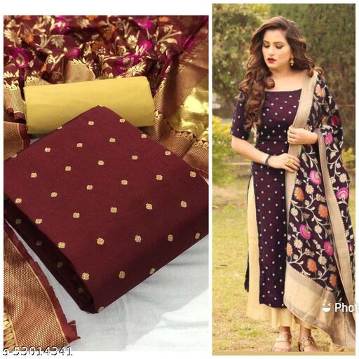 new taffeta silk top with havy shantoon with havy banarasi dupatta