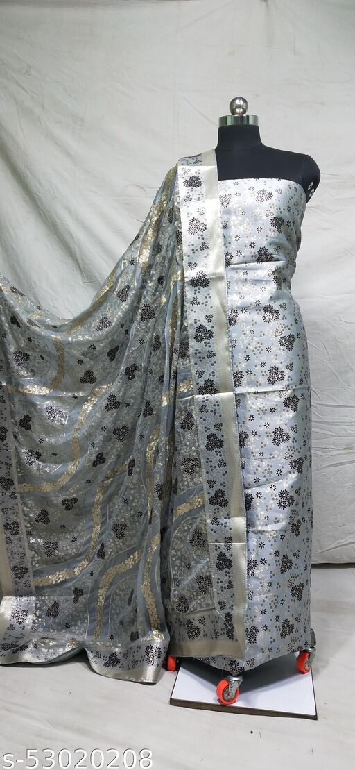 Brocade Suit With Embriodery Dupatta