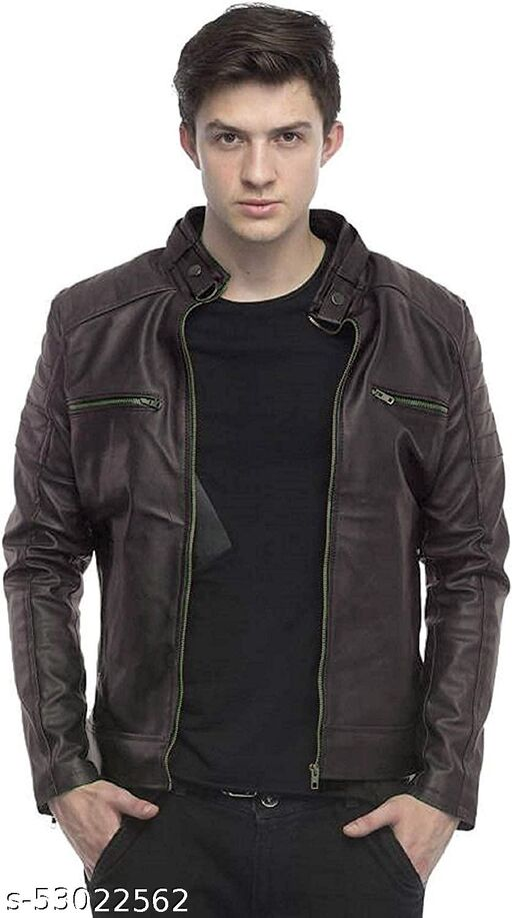 INKKR Men's Solid Sports Jacket