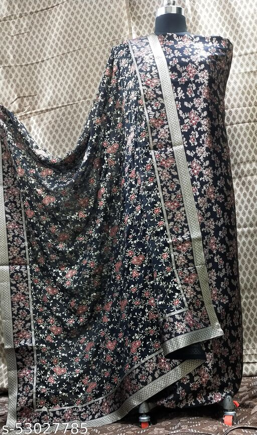 Woven Suit With Embriodery Dupatta