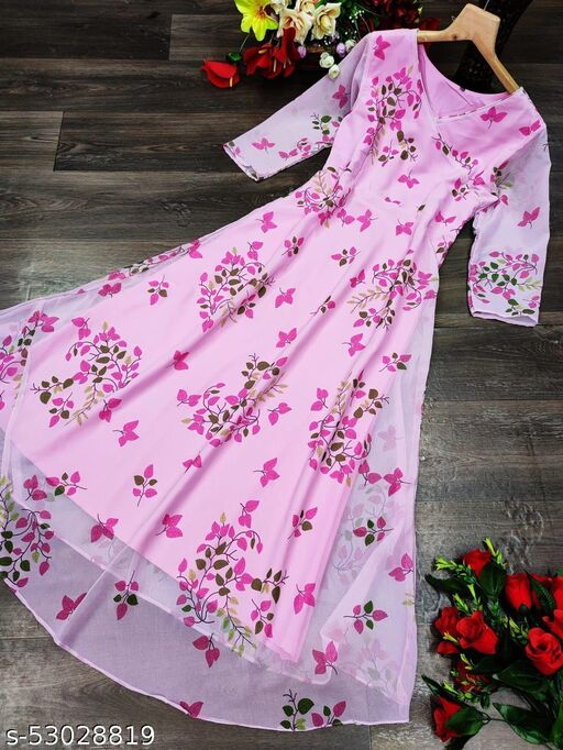 NEW GEORGETTE GOWN