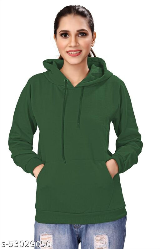 Pretty Glamorous Women Sweatshirts