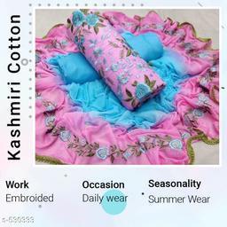 Designer Cotton Suits & Dress Material