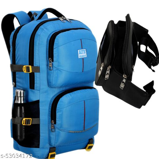 Combo Waist bags + Large 50 L Laptop Backpack Travel Laptop Backpack for Outdoor Sport Hiking travel bags