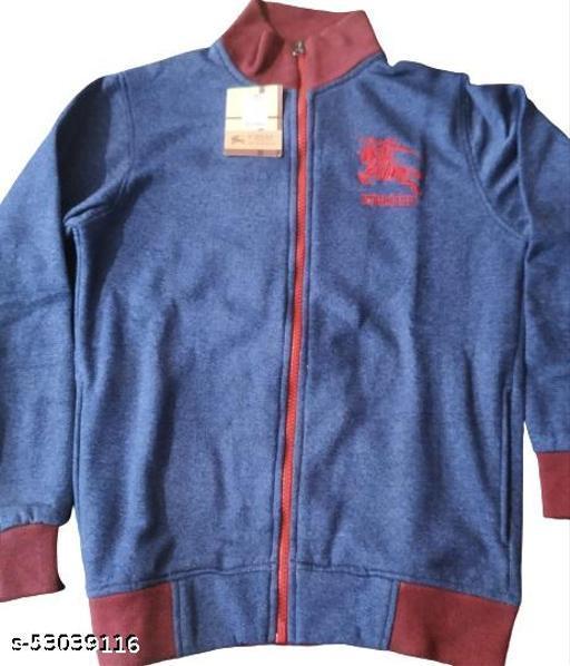 Fleece Zipper Sweatshirt