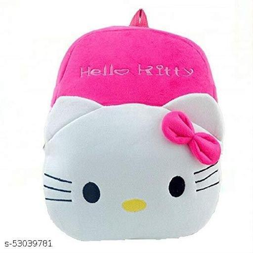 Cute Kids Backpack Toddler Bag Plush Animal Cartoon Mini Travel Bag for Baby Girl Boy 1-6 Years (Hello Kitty)