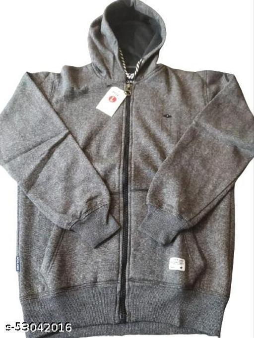 Hooded Sweatshirts with Zipper