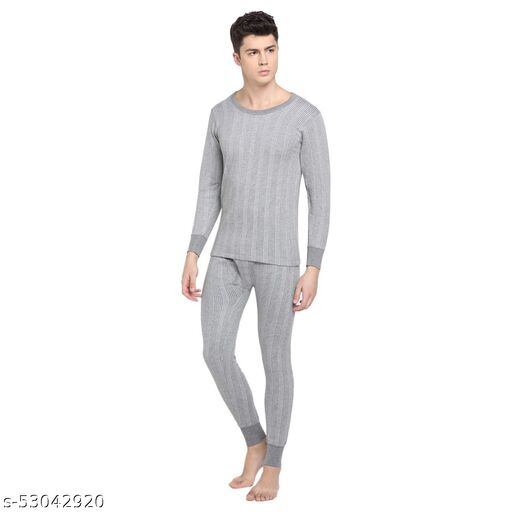 NYOLY Full Suit Top + Bottom Winter Pure wool Thermal suit