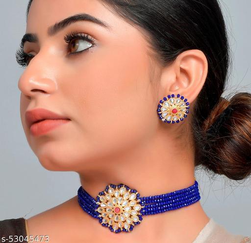 Chokar Jewellery Set