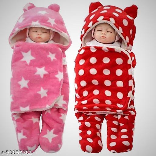 SHERPA baby sleeping baby blanket