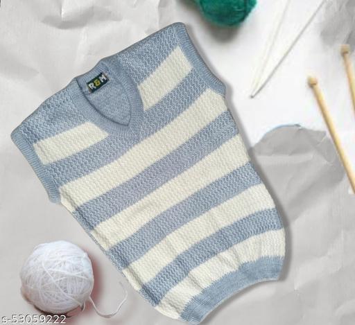 Woolen Half Sweater