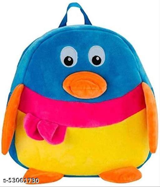 Cute Kids Backpack Toddler Bag Plush Animal Cartoon Mini Travel Bag for Baby Girl Boy 1-6 Years (Duck Multi-color)