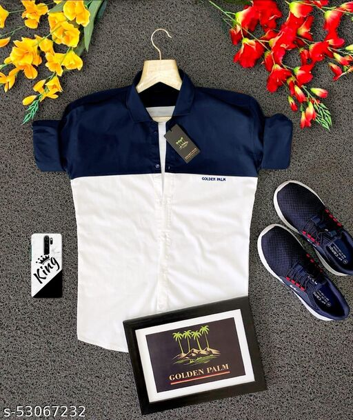 Men's Full Sleeve Shirt,Havy Cotton