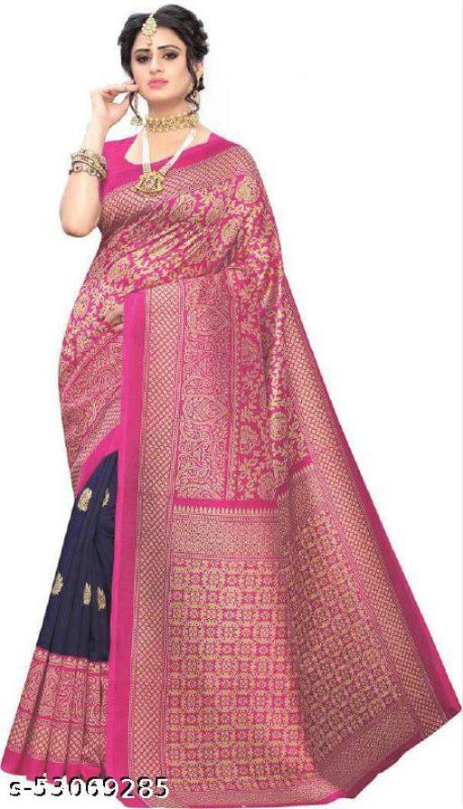 women's art silk saree latest design of 2021