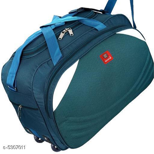 Stylish Polyester Men's Duffle Bag