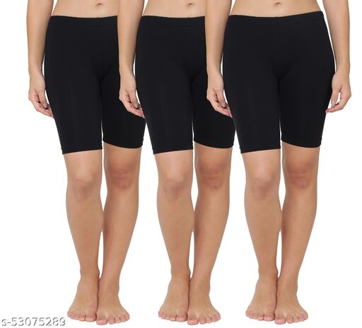 Leading Lady Women Lounge Shorts Pack Of 3 Pieces