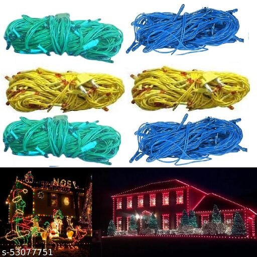 LED Wine Rice Light for Home, Diwali and Christmas Decoration (6Pc) Multicolor