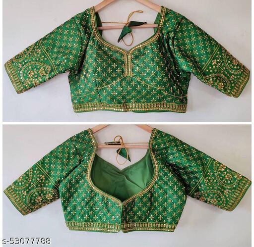 EXCLUSIVE NEW MAGGAM WORK READYMADE BLOUSE