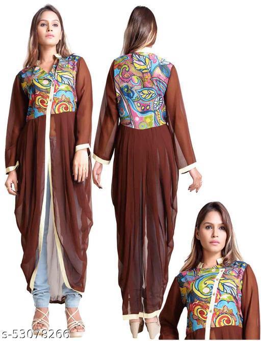 womens dhoti style kurti