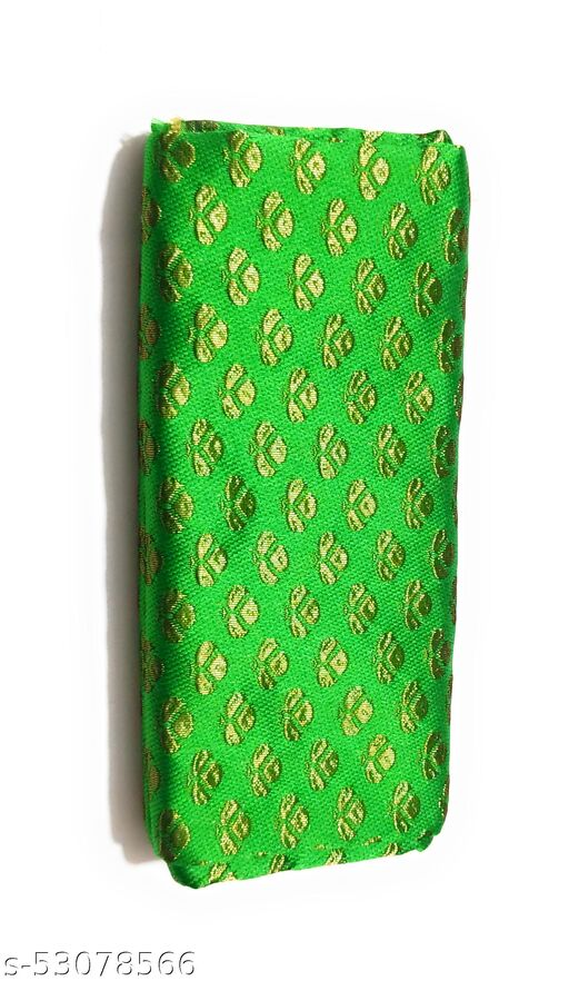ilk-Cotton Blouse Piece Material for Women, Unstitched,  (1 Meter Each) - Navratri Special, Durga Puja Special, Oti Bharan, Ugadi Special
