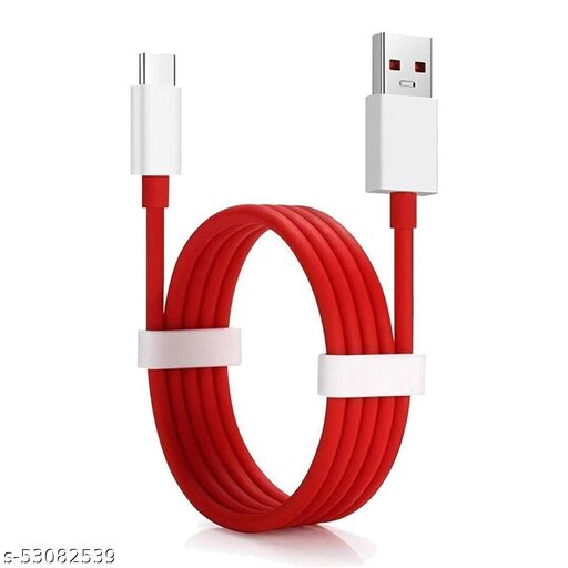 Type C Dash Fast Data sync Charging Cable for One Plus 3/3t/5/5t/7/7t/8/8t/9/9r/9R/Nord/Nord2, Data Sync Type-C USB Cable
