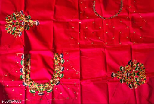 Embroidered  Worked Stylish Blouse No 3