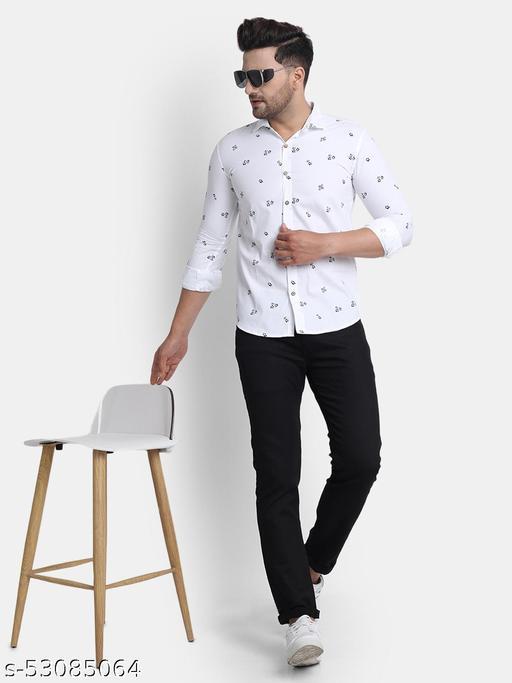 Unique Style Cotton Printed Shirts