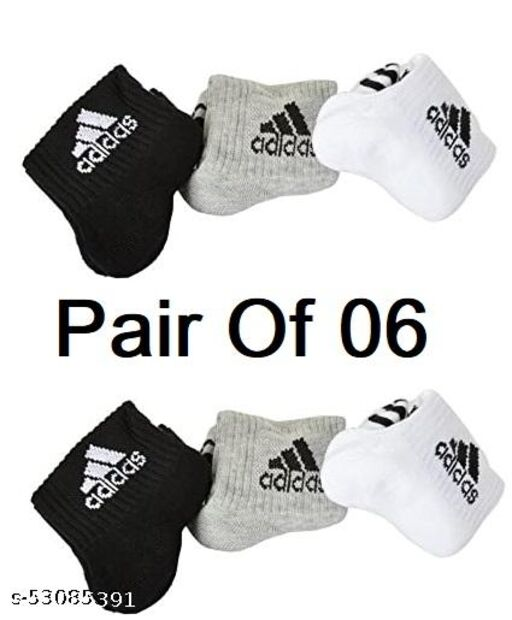 Adubs Ankle Length Socks For Men Pair Of 06