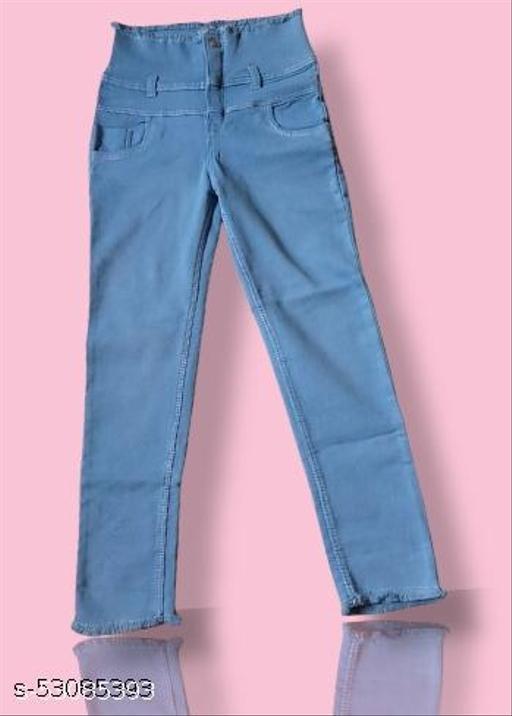 Stylish Graceful Women Jeans