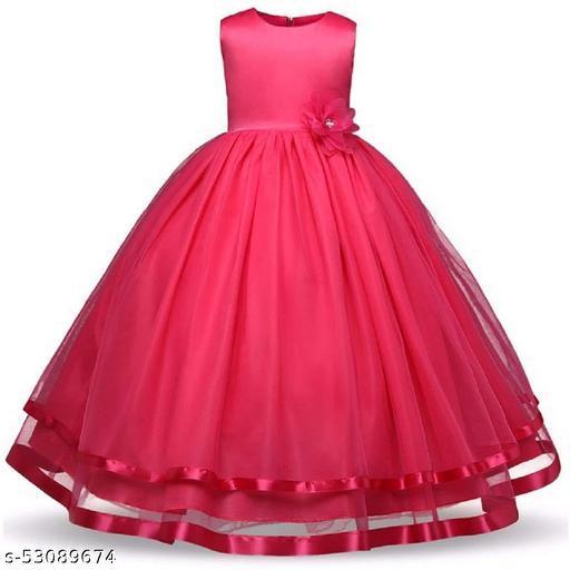 R Cube Girls Gown Dress