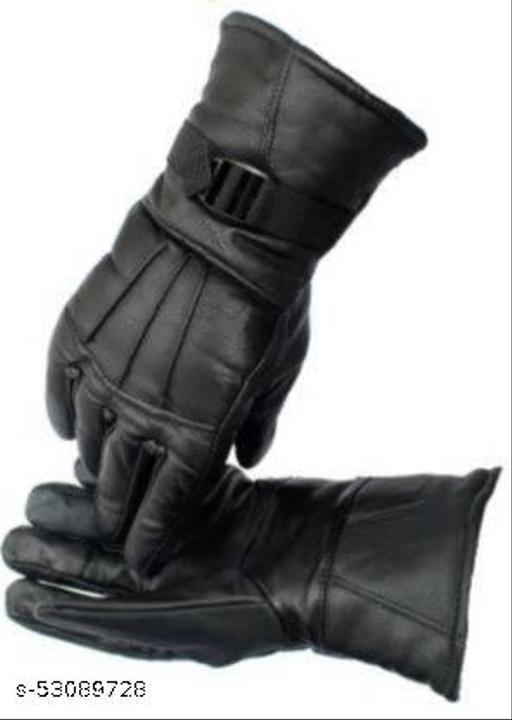 Zonkar bike cycling Leather glove
