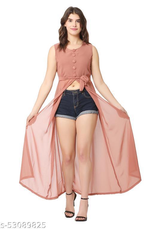 Women A-Line Maxi Pink Dress