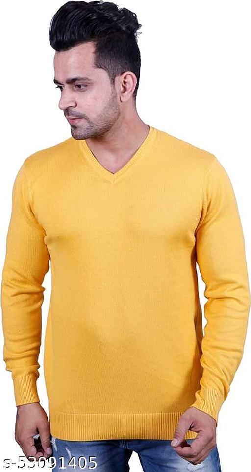 Men's Full Sleeve Comfort Wear Woolen Sweater
