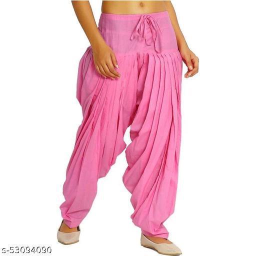 Stylish Women's pure 100%  Cotton Patiala Salwar