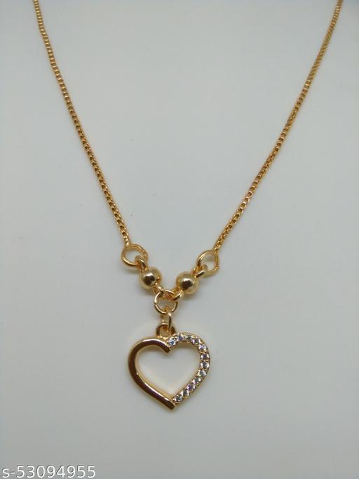 Beautiful Heart Designer Diamond Necklace Gift for Women